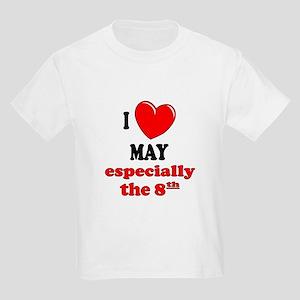 May 8th Kids Light T-Shirt