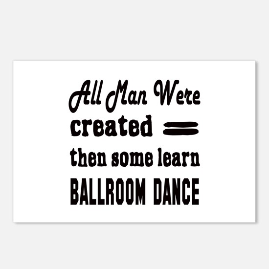 Some Learn Ballroom dance Postcards (Package of 8)