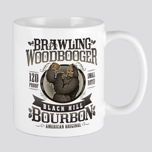 Brawling Woodbooger Black Hill Bourbon Mugs