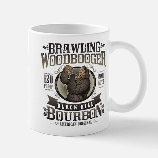 Brawling Woodbooger Black Hill Bourbon Mugs