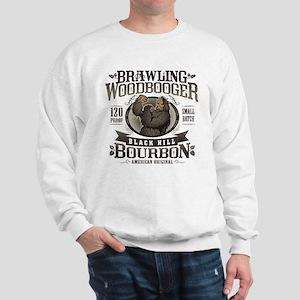 Brawling Woodbooger Black Hill Bourbon Sweatshirt