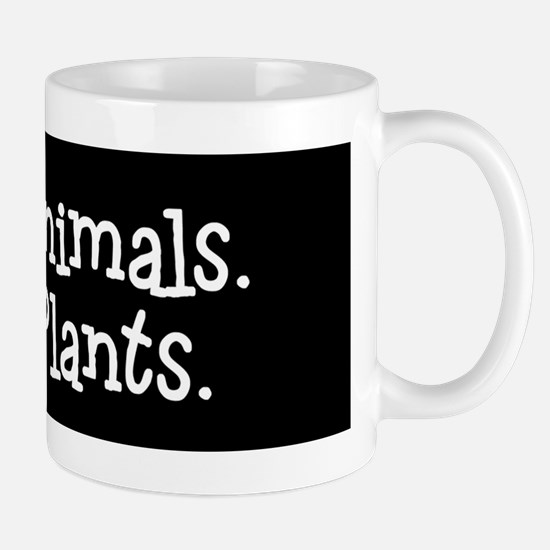 Love Animals Eat Plants Mugs