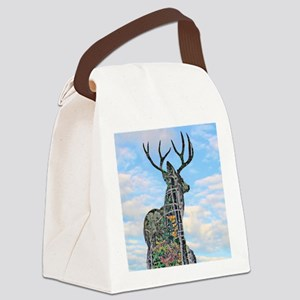 Forest buck merge Canvas Lunch Bag