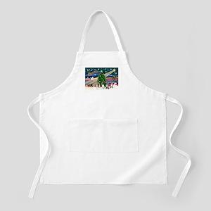 XmasMagic/Chihuahuas BBQ Apron