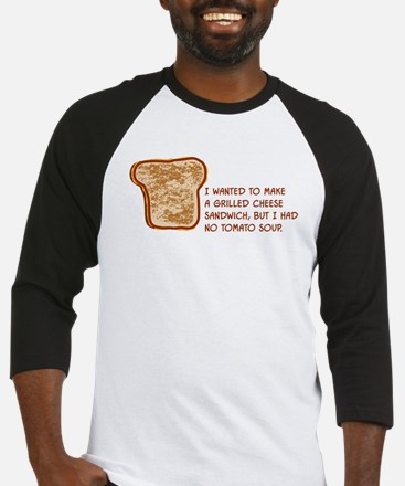 Grilled Cheese Baseball Jersey