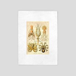 Cephalopods 5'x7'area Rug