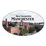 Manchester Sticker (Oval)
