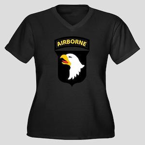 101st Airborne Division Logo Plus Size T-Shirt