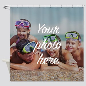 Custom Photo Shower Curtain