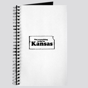 Not everything is flat in Kansas ~ Journal