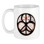 Jewish Peace Window Mug