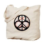 Jewish Peace Window Tote Bag