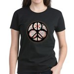 Jewish Peace Window Women's Dark T-Shirt