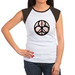 Jewish Peace Window Women's Cap Sleeve T-Shirt
