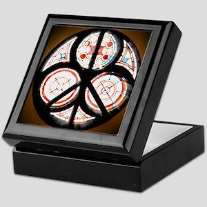 Jewish Peace Window Keepsake Box