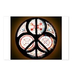 Jewish Peace Window Postcards (Package of 8)