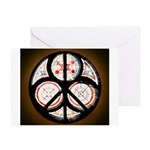 Jewish Peace Window Greeting Card