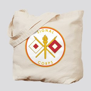 US Army Signal Corps Tote Bag