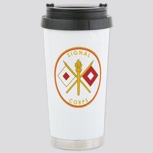 US Army Signal Corps Stainless Steel Travel Mug