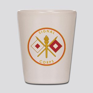 US Army Signal Corps Shot Glass