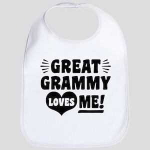 Great Grammy Loves Me Bib