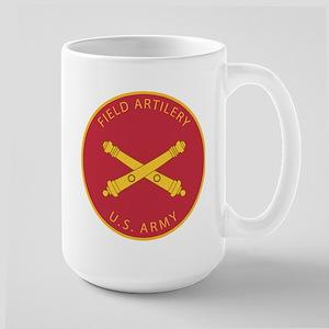US Army Field Artillery Large Mug