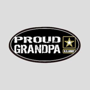 U.S. Army: Proud Grandpa (Black) Patch