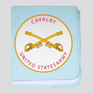 US Cavalry Division baby blanket