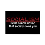 Socialism Rectangle Magnet (10 pack)