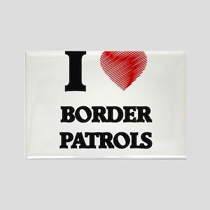 I love Border Patrols Magnets