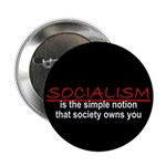 "Socialism 2.25"" Button (100 pack)"