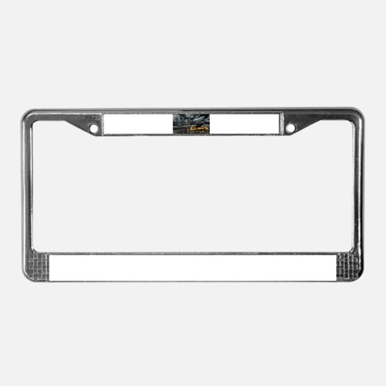 Caterpillar D7E License Plate Frame