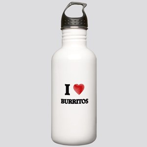 I love Burritos Stainless Water Bottle 1.0L