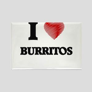 I love Burritos Magnets