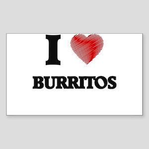 I love Burritos Sticker
