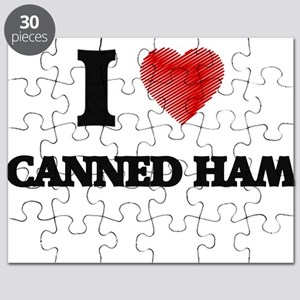 I love Canned Ham Puzzle