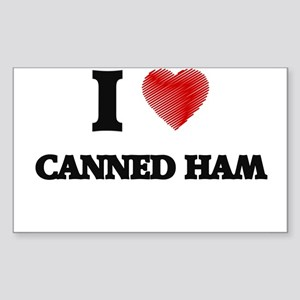 I love Canned Ham Sticker