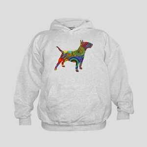 Peace Love Bull Terrier Sweatshirt
