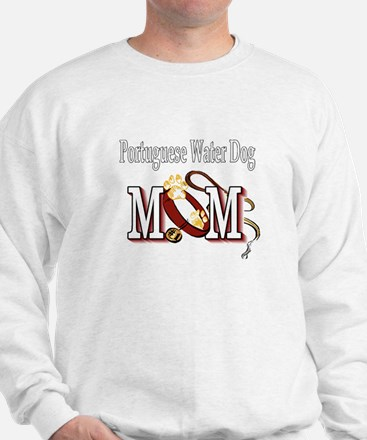 Portuguese Water Dog Mom Sweatshirt