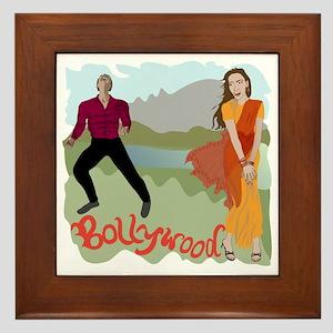 Singing Bollywood Framed Tile