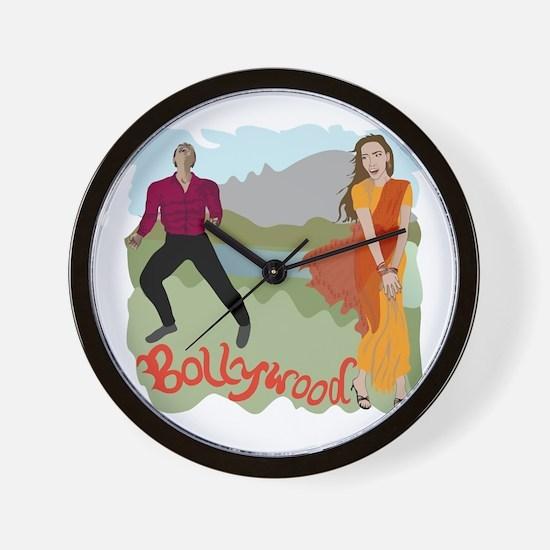 Singing Bollywood Wall Clock