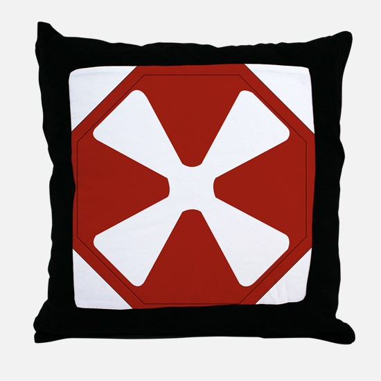 8th Army Emblem Throw Pillow