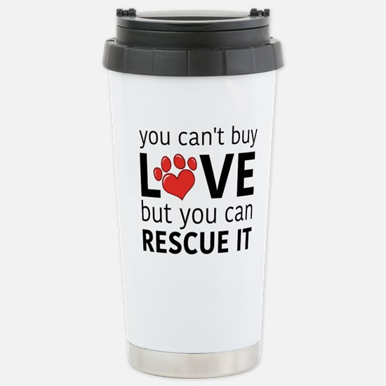 you can't buy love Travel Mug