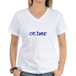 other Women's V-Neck T-Shirt