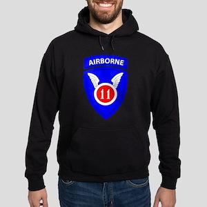 11th Airborne Division Emblem Hoodie (dark)