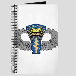 Special Forces Parachutist Emblem Journal