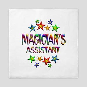 Magician Assistant Queen Duvet