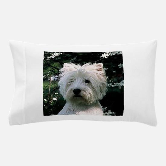 west highland white terrier Pillow Case