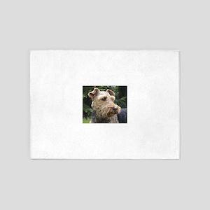 welsh terrier 5'x7'Area Rug