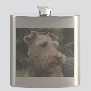 welsh terrier Flask